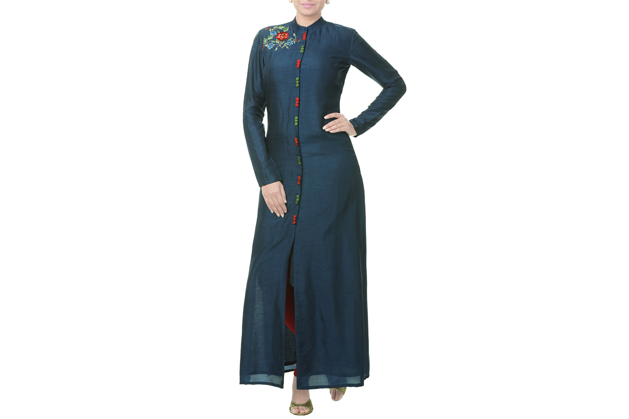 navy blue tunic online