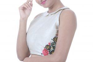 beige blouses online
