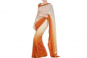 designer ombre saree online
