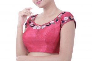 designer pink blouses
