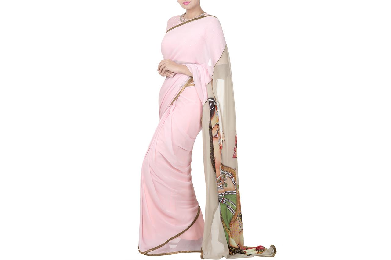 digital Printed sarees online