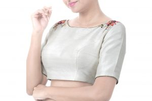 raw silk blouses online