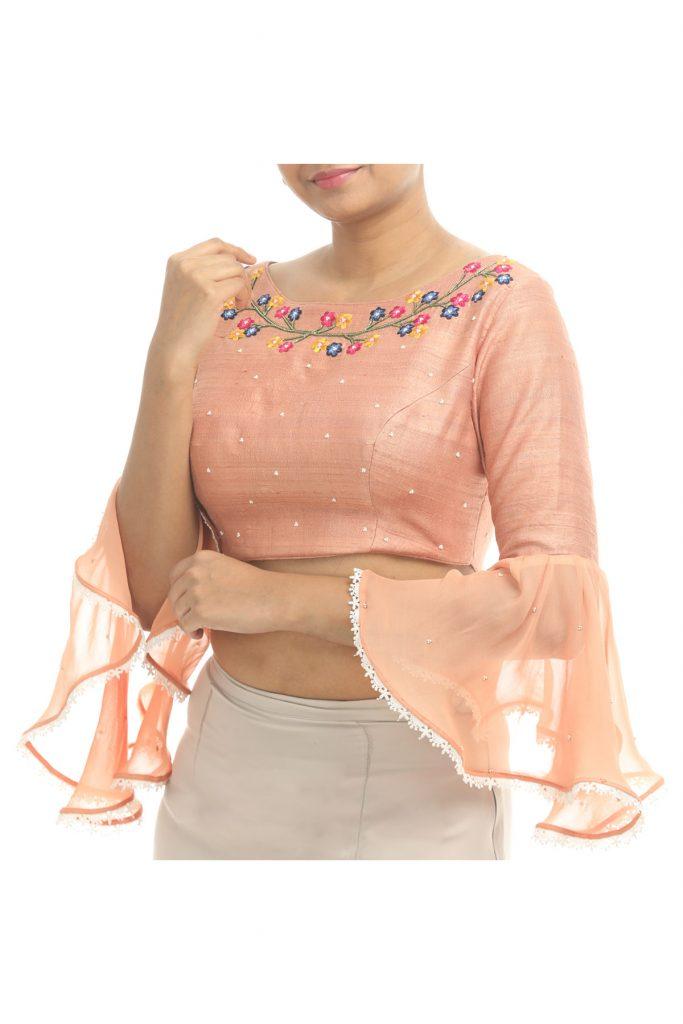 designer saree blouses online