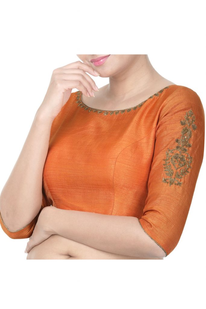 designer blouses embroidery