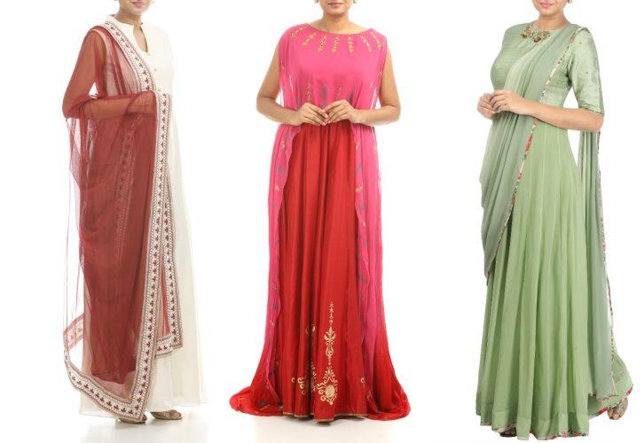 designer Anarkali in online