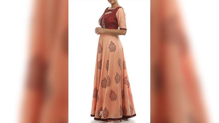 designer maxi dresses india