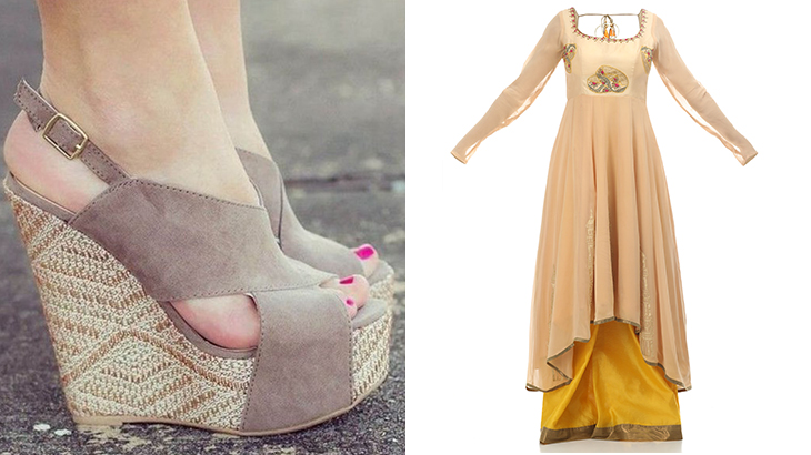 indo western fusion dresses