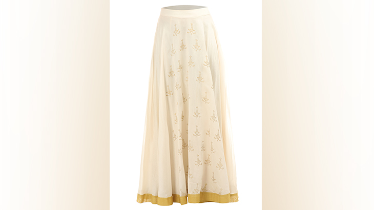 designer long skirts party wear