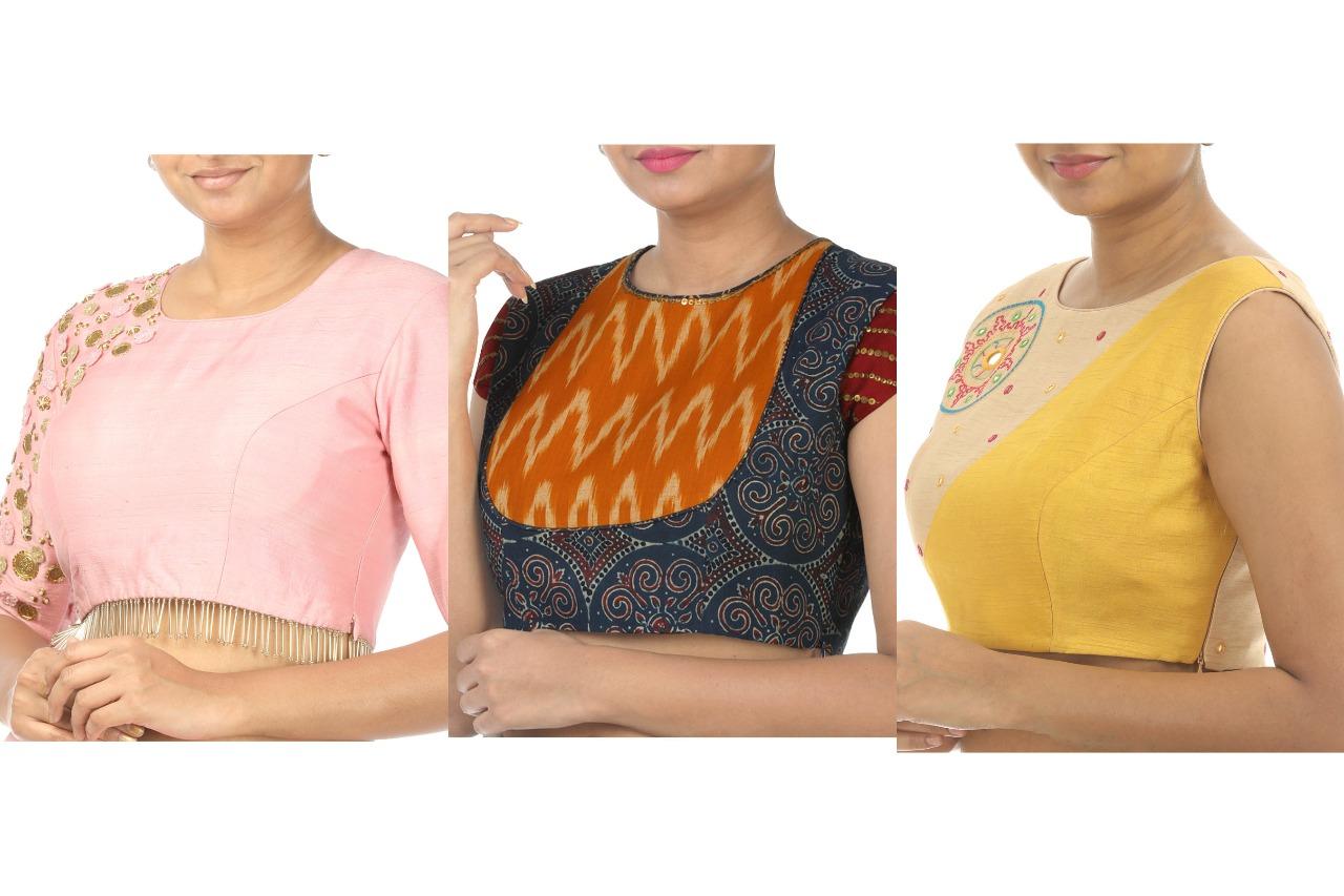 designer blouses in online