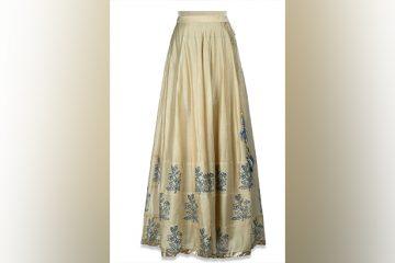 designer skirts india